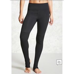Forever 21 Active Yoga Stirrup Leggings